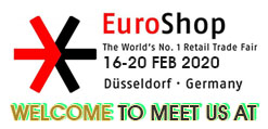 Gocus will be at Euroshop 2020 welcome to your arrival
