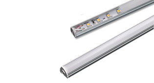 Slim magnetic led bar 1310, led shelf light under cabinet